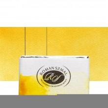 Roman Szmal : Aquarius : Watercolour Paint : Full Pan : Indian Yellow (Hue)