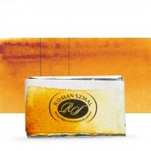 Roman Szmal : Aquarius : Watercolour Paint : Full Pan : Quinacridone Gold