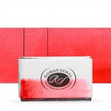 Roman Szmal : Aquarius : Watercolour Paint : Full Pan : Cherry Quinacridone Red