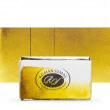 Roman Szmal : Aquarius : Watercolour Paint : Full Pan : Deep Green Gold