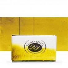 Roman Szmal : Aquarius : Watercolour Paint : Full Pan : Green Gold
