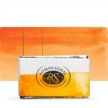 Roman Szmal : Aquarius : Watercolour Paint : Full Pan : Golden Yellow