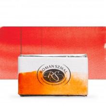 Roman Szmal : Aquarius : Watercolour Paint : Full Pan : Deep Orange