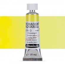 Schmincke : Horadam Watercolour Paint : 15ml : Lemon Yellow