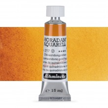 Schmincke : Horadam Watercolour Paint : 15ml : Quinacridone Gold Hue