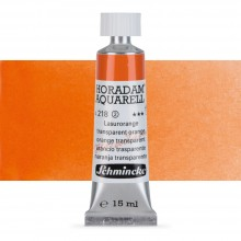 Schmincke : Horadam Watercolour Paint : 15ml : Translucent Orange