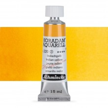 Schmincke : Horadam Watercolour Paint : 15ml :Indian Yellow