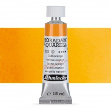 Schmincke : Horadam Watercolour Paint : 15ml : Yellow Orange