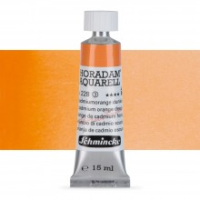 Schmincke : Horadam Watercolour Paint : 15ml : Cadmium Orange Deep
