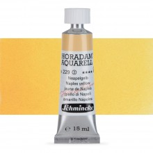 Schmincke : Horadam Watercolour Paint : 15ml : Naples Yellow