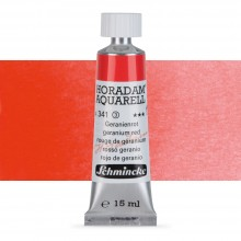 Schmincke : Horadam Watercolour Paint : 15ml : Geranium Red
