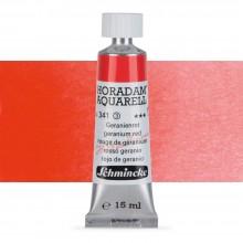 Schmincke : Horadam Watercolour Paint : 15ml : Geranium Red