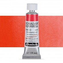 Schmincke : Horadam Watercolour Paint : 15ml : Vermilion Light