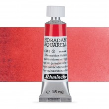 Schmincke : Horadam Watercolour Paint : 15ml : Quinacridone Red Light