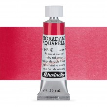 Schmincke : Horadam Watercolour Paint : 15ml : Ruby Red Deep
