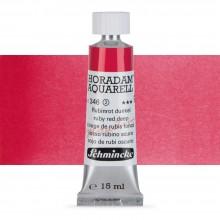 Schmincke : Horadam Watercolour Paint : 15ml : Ruby Red Deep