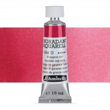 Schmincke : Horadam Watercolour Paint : 15ml : Madder Red Deep
