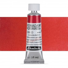 Schmincke : Horadam Watercolour Paint : 15ml : Transparent Red Deep