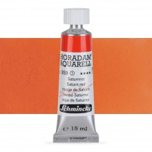 Schmincke : Horadam Watercolour Paint : 15ml : Saturn Red