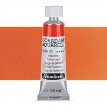 Schmincke : Horadam Watercolour Paint : 15ml : Saturn Red