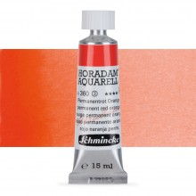 Schmincke : Horadam Watercolour Paint : 15ml : Permanent Red Orange