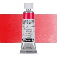 Schmincke : Horadam Watercolour Paint : 15ml : Scarlet Red