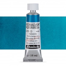 Schmincke : Horadam Watercolour Paint : 15ml : Helio Turquoise