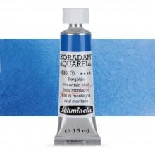 Schmincke : Horadam Watercolour Paint : 15ml : Mountain Blue