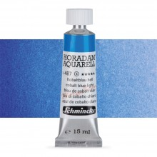 Schmincke : Horadam Watercolour : 15ml : Cobalt Blue Light
