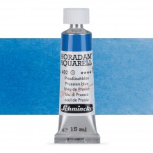 Schmincke : Horadam Watercolour Paint : 15ml : Prussian Blue