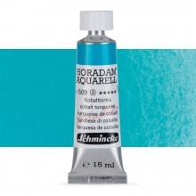Schmincke : Horadam Watercolour Paint : 15ml : Cobalt Turquoise
