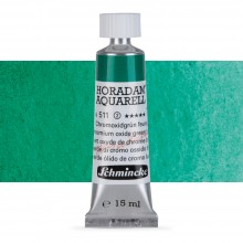 Schmincke : Horadam Watercolour Paint : 15ml : Chromium Oxide Green Brilliant