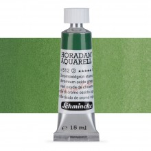 Schmincke : Horadam Watercolour Paint : 15ml : Chromium Oxide Green