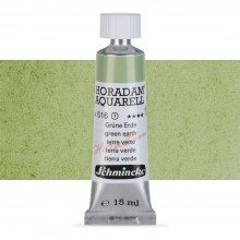Schmincke : Horadam Watercolour Paint : 15ml : Green Earth