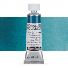 Schmincke : Horadam Watercolour Paint : 15ml : Prussian Green