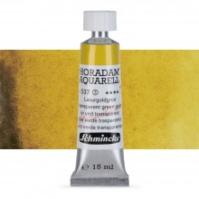 Schmincke : Horadam Watercolour Paint : 15ml : Transparent Green Gold