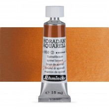 Schmincke : Horadam Watercolour Paint : 15ml : Spinel Brown