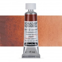 Schmincke : Horadam Watercolour Paint : 15ml : Maroon Brown