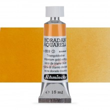 Schmincke : Horadam Watercolour Paint : 15ml : Titanium Gold Ochre