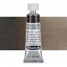 Schmincke : Horadam Watercolour Paint : 15ml : Sepia Brown