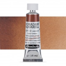 Schmincke : Horadam Watercolour Paint : 15ml : Transparent Umber
