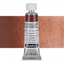 Schmincke : Horadam Watercolour Paint : 15ml : Mahogany Brown