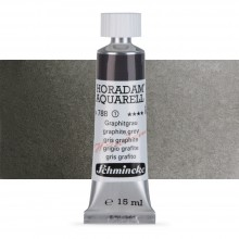 Schmincke : Horadam Watercolour Paint : 15ml : Graphite Grey