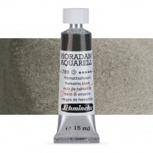 Schmincke : Horadam Watercolour Paint : 15ml : Hematite Black