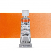 Schmincke : Horadam Watercolour : 5ml : Transparent Orange (Translucent Orange)