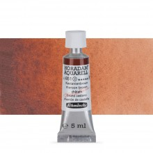 Schmincke : Horadam Watercolour Paint : 5ml : Maroon Brown