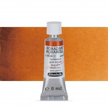Schmincke : Horadam Watercolour Paint : 5ml : Gold Brown
