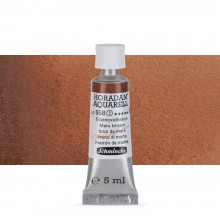 Schmincke : Horadam Watercolour Paint : 5ml : Mars Brown