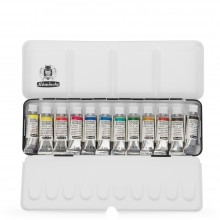 Schmincke : Horadam Watercolour Paint : Metal Set : 12x5ml Tubes