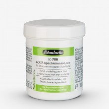 Schmincke : Aqua Watercolour Paint Modelling Paste : Fine : 125ml